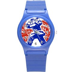 Communist Party Of China Plastic Sport Watch (small) by youshidesign