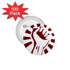 Fist Power 1 75  Button (100 Pack) by youshidesign