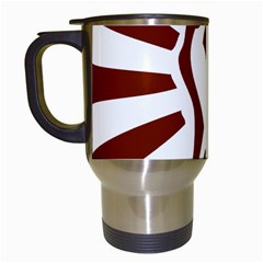 Fist Power Travel Mug (white) by youshidesign