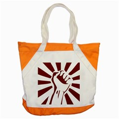Fist Power Accent Tote Bag