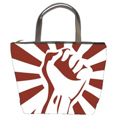 Fist Power Bucket Bag