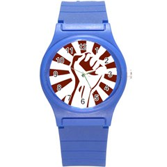 Fist Power Plastic Sport Watch (small) by youshidesign