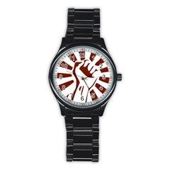 Fist Power Sport Metal Watch (black) by youshidesign