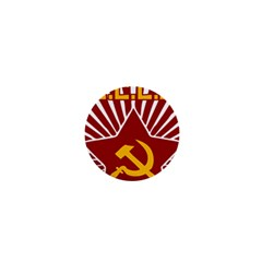 Hammer And Sickle Cccp 1  Mini Button