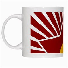 Hammer And Sickle Cccp White Mug by youshidesign