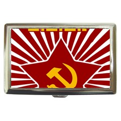 Hammer And Sickle Cccp Cigarette Money Case by youshidesign