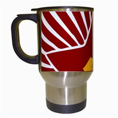Hammer And Sickle Cccp Travel Mug (white) by youshidesign