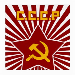 Hammer And Sickle Cccp Glasses Cloth (medium, Two Sides) by youshidesign