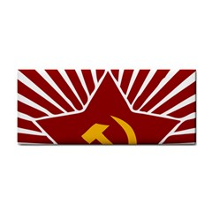 Hammer And Sickle Cccp Hand Towel by youshidesign
