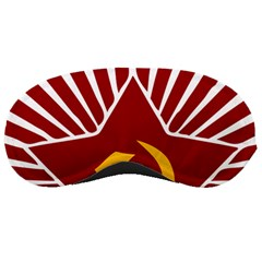 Hammer And Sickle Cccp Sleeping Mask by youshidesign