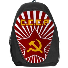 Hammer And Sickle Cccp Backpack Bag by youshidesign