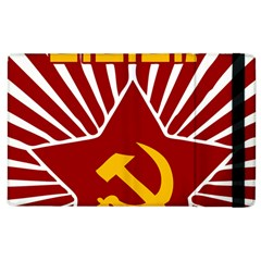 Hammer And Sickle Cccp Apple Ipad 2 Flip Case by youshidesign