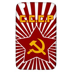 Hammer And Sickle Cccp Samsung Galaxy Tab 3 (8 ) T3100 Hardshell Case  by youshidesign