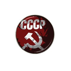 Cccp Soviet Union Flag Hat Clip Ball Marker (10 Pack)