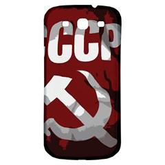 Cccp Soviet Union Flag Samsung Galaxy S3 S Iii Classic Hardshell Back Case by youshidesign