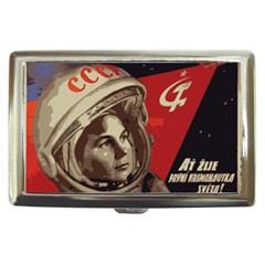 Soviet Union In Space Cigarette Money Case by youshidesign