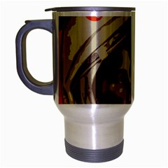Soviet Union In Space Travel Mug (silver Gray) by youshidesign
