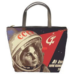 Soviet Union In Space Bucket Bag