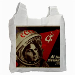 Soviet Union In Space Recycle Bag (two Sides) by youshidesign