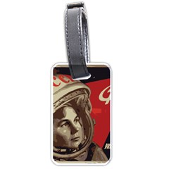 Soviet Union In Space Luggage Tag (two Sides) by youshidesign