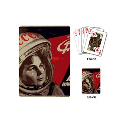 Soviet Union In Space Playing Cards (mini) by youshidesign