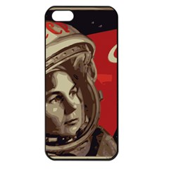 Soviet Union In Space Apple Iphone 5 Seamless Case (black) by youshidesign