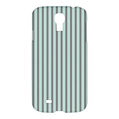 Light Green And Grey Strip Copy Samsung Galaxy S4 I9500/i9505 Hardshell Case by MCGIFTSHOP