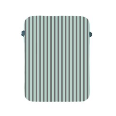 Light Green And Grey Strip Copy Apple Ipad 2/3/4 Protective Soft Case by MCGIFTSHOP