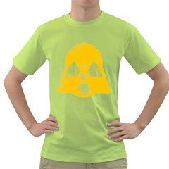 Danger (yellow) Mens  T-shirt (green) by kreadid
