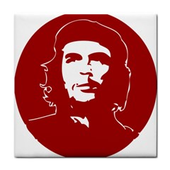 Chce Guevara, Che Chick Ceramic Tile by youshidesign