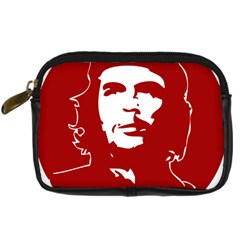 Chce Guevara, Che Chick Digital Camera Leather Case by youshidesign