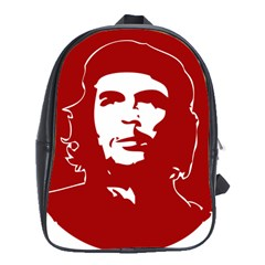 Chce Guevara, Che Chick School Bag (xl) by youshidesign