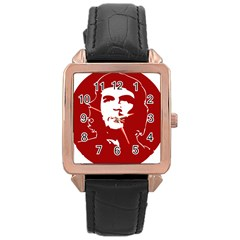 Chce Guevara, Che Chick Rose Gold Leather Watch