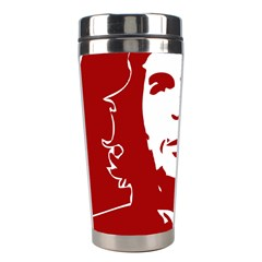 Chce Guevara, Che Chick Stainless Steel Travel Tumbler by youshidesign