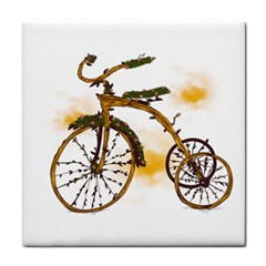 Tree Cycle Ceramic Tile by Contest1753604