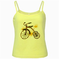 Tree Cycle Yellow Spaghetti Tank by Contest1753604