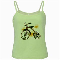 Tree Cycle Green Spaghetti Tank by Contest1753604