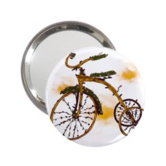 Tree Cycle Handbag Mirror (2 25 ) by Contest1753604