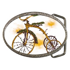 Tree Cycle Belt Buckle (oval) by Contest1753604