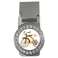 Tree Cycle Money Clip (cz)