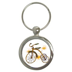 Tree Cycle Key Chain (round)