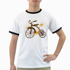 Tree Cycle Mens' Ringer T-shirt by Contest1753604