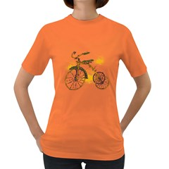 Tree Cycle Womens' T Shirt (colored) by Contest1753604