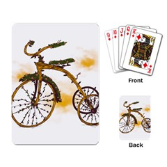 Tree Cycle Playing Cards Single Design by Contest1753604