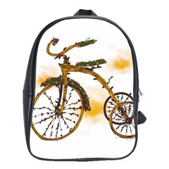 Tree Cycle School Bag (large) by Contest1753604