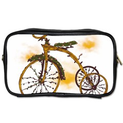Tree Cycle Travel Toiletry Bag (two Sides)
