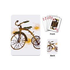 Tree Cycle Playing Cards (mini) by Contest1753604