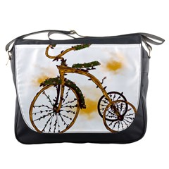 Tree Cycle Messenger Bag by Contest1753604