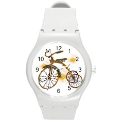 Tree Cycle Plastic Sport Watch (medium) by Contest1753604