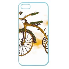 Tree Cycle Apple Seamless Iphone 5 Case (color) by Contest1753604